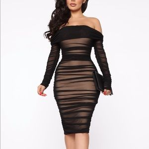 Fashion nova Ready in a Ruched Dress